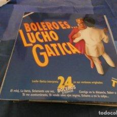 Discos de vinilo: DOBLE LP EN MUY BUEN ESTADO BOLERO ES...LUCHO GATICA . Lote 191797057