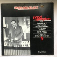 Discos de vinilo: LIONEL HAMPTON – LIONEL HAMPTON_1980_GAT. Lote 191797927
