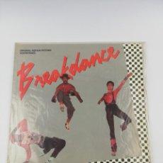 Disques de vinyle: BREAKDANCE BSO LP. Lote 191802855