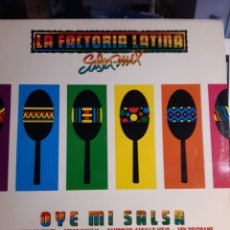 Discos de vinilo: LA FACTORIA LATINA-OYE MI SALSA. Lote 191804498