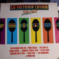 Discos de vinilo: LA FACTORÍA LATINA-SALSA MIX. Lote 191805118