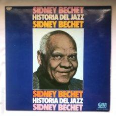 Discos de vinilo: SIDNEY BECHET – SIDNEY BECHET_1974. Lote 191807520