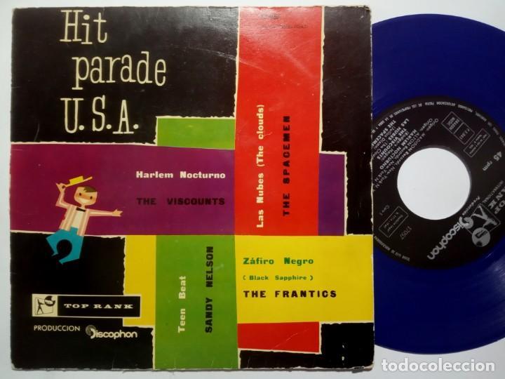 VARIOS - THE VISCOUNTS / THE SPACEMEN / THE FRANTICS / SANDY NELSON - HIT PARADE - EP 1960 -TOP RANK (Música - Discos de Vinilo - EPs - Rock & Roll)