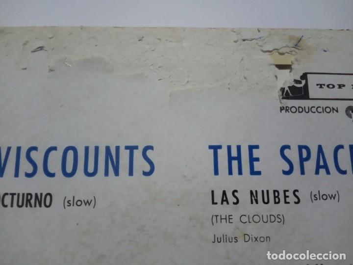 Discos de vinilo: VARIOS - THE VISCOUNTS / THE SPACEMEN / THE FRANTICS / SANDY NELSON - hit parade - EP 1960 -TOP RANK - Foto 3 - 191816613