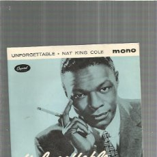 Discos de vinilo: NAT KING COLE UNFORGETTABLE. Lote 191817000
