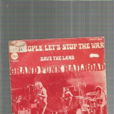 Discos de vinilo: GRAND FUNK PEOPLE STOP THE WAR. Lote 191817782