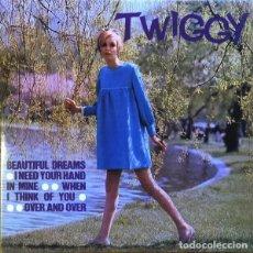 Discos de vinilo: TWIGGY – BEAUTIFUL DREAMS EP POP ROCK CLUB EDITION, REISSUE, VIOLET TRANSLUCENT. Lote 191828835
