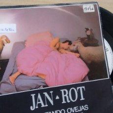 Discos de vinilo: SINGLE ( VINILO) DE JAN-ROT AÑOS 80. Lote 191829445