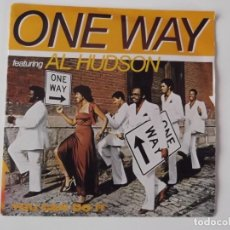Discos de vinilo: ONE WAY FEATURING AL HUDSON - YOU CAN DO IT / TONIGHT. Lote 191833601