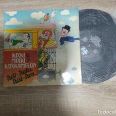 Discos de vinilo: KIXKI TA MIXKI TA KAXKAMELON / TRIKI TRAKA / LP PORTADA DOBLE 33 RPM / IZ 1982. Lote 191847016