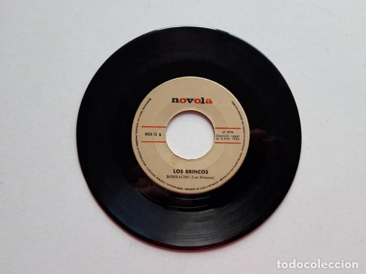 LOS BRINCOS, BORRACHO, SOLA, 1965, NOVOLA. SÓLO EL DISCO (Música - Discos de Vinilo - EPs - Solistas Españoles de los 50 y 60)