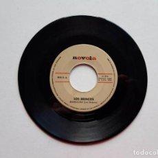 Discos de vinilo: LOS BRINCOS, BORRACHO, SOLA, 1965, NOVOLA. SÓLO EL DISCO. Lote 191856025