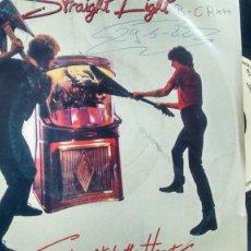 Discos de vinilo: SINGLE ( VINILO) DE STRAIGHT EIGHT AÑOS 80. Lote 191858455