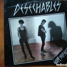 Discos de vinilo: DESECHABLES - GOLPE TRAS GOLPE (LP) 1984. MUY RARO. Lote 191860476