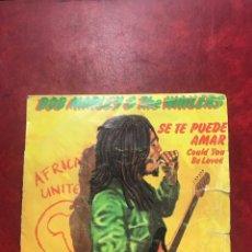 Discos de vinilo: BOB MARLEY& THE WAILERS SENGLE DE 1980. Lote 191866148