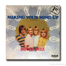 Discos de vinilo: BUCKS FIZZ - MAKING YOUR MIND UP (DECIDETE). Lote 191866415