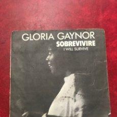 Discos de vinilo: GLORIA GAYNOR SINGLE DE 1979. Lote 191866961