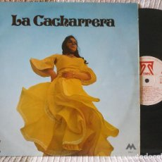 Discos de vinilo: LA CACHARRERA - LP DE VINILO SELLO TEMPLE 1972 (A LA GUITARRA PACO DE LUÍS, JOSÉ GONZÁLEZ Y QUINITO). Lote 191870815