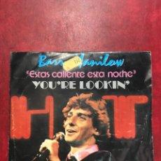 Discos de vinilo: BARRY MANILOW SINGLE DE 1983. Lote 191871593