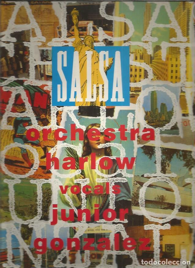 ORCHESTRA HARLOW JUNIOR GONZALEZ (Música - Discos - LP Vinilo - Grupos y Solistas de latinoamérica)