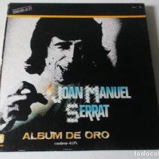 Discos de vinilo: ALBUM DE ORO, JOAN MANUEL SERRAT, 4LPS. Lote 191879497