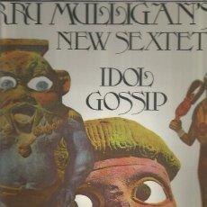 Discos de vinilo: GERRY MULLIGAN IDOL GOSSIP. Lote 191880497