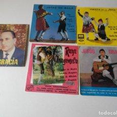 Discos de vinilo: LOTE, JOTAS DE ARAGON 5 EPS, MIRAR FOTOS. Lote 191881710