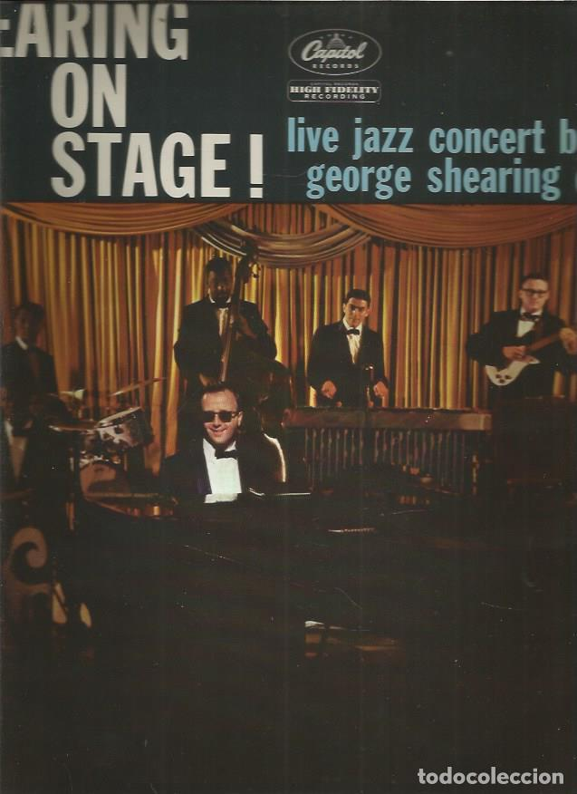 GEORGE SHEARING ON STAGE (Música - Discos - LP Vinilo - Jazz, Jazz-Rock, Blues y R&B)