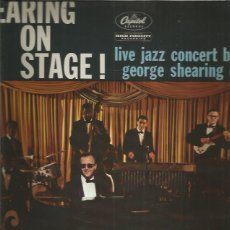 Discos de vinilo: GEORGE SHEARING ON STAGE. Lote 191883257