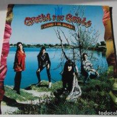 Discos de vinilo: GRETA Y LOS GARBO LP LLAMAD A MR BROWN! MADE IN SPAIN 1991 GATEFOLD SLEEVE. Lote 191891192