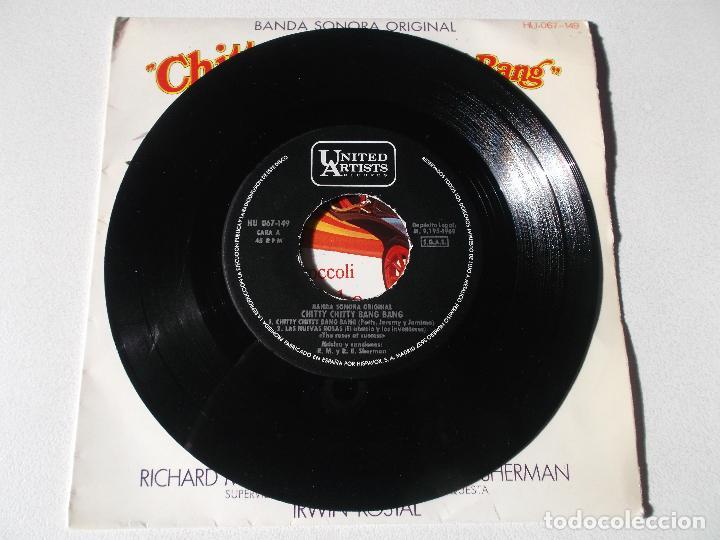 Discos de vinilo: CHITTY CHITTY BANG BANG ( SHERMAN & SHERMAN ) - BANDA SONORA - CANCIONES EN ESPAÑOL - Foto 3 - 191891742