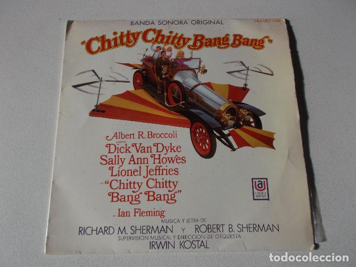 CHITTY CHITTY BANG BANG ( SHERMAN & SHERMAN ) - BANDA SONORA - CANCIONES EN ESPAÑOL (Música - Discos de Vinilo - EPs - Bandas Sonoras y Actores)