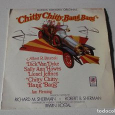 Discos de vinilo: CHITTY CHITTY BANG BANG ( SHERMAN & SHERMAN ) - BANDA SONORA - CANCIONES EN ESPAÑOL. Lote 191891742