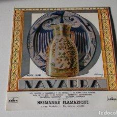 Discos de vinilo: HERMANAS FLAMARIQUE, NAVARRA. Lote 191891885