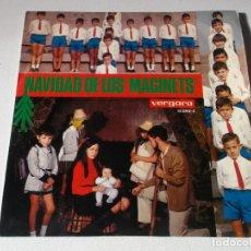 Discos de vinilo: NAVIDAD DE LOS MAGINETS SELLO VERGARA AÑO 1969. Lote 191892541