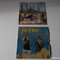 Discos de vinilo: LOTE, JOTAS, DE ARAGON 2 EPS,JOSEFINA IBAÑEZ,ENCARNITA RODRIGUEZ. Lote 191893247