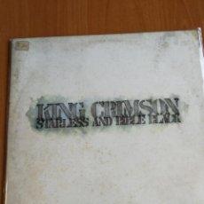Discos de vinilo: KING CRIMSON - STARLESS AND BIBLE BLACK - 1974 - LP PRIMERA EDICION. Lote 191894733