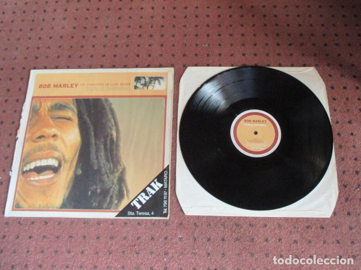 BOB MARLEY VS FUNKSTAR DE LUXE REMIX - SUN IS SHINING - MAXI - GERMANY - EDEL - IBL - (Música - Discos de Vinilo - Maxi Singles - Reggae - Ska)