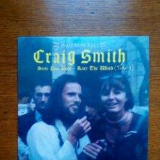 Discos de vinilo: CRAIG SMITH - SAM PAN BOAT / RACE THE WIND, TAKE 1, MUNSTER EDITION, BLUE TRANSLUCENT, 2019. SPAIN.. Lote 191896275