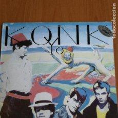 Discos de vinilo: KONK -LP YO! 1983 ITALY LES DISQUES DU CREPUSCULE TWI 143. Lote 191898180
