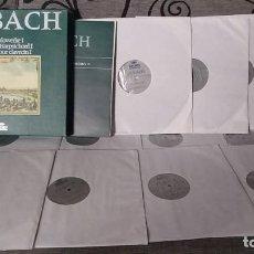 Discos de vinilo: J.S. BACH*_–CEMBALOWERKE / WORKS FOR HARPSICHORD / ŒUVRES POUR CLAVECIN I. Lote 191900767