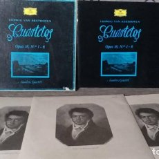 Discos de vinilo: LUDWIG VAN BEETHOVEN . CUARTETOS OPUS 18 Nº1 - 6. Lote 191900842