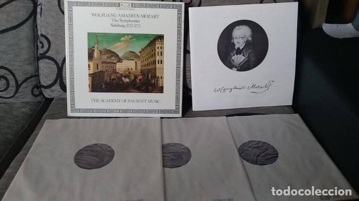 WOLFGANG AMADEUS MOZART-THE ACADEMY OF ANCIENT MUSIC_–THE SYMPHONIES (SALZBURG 1772-1773) (Música - Discos de Vinilo - Maxi Singles - Clásica, Ópera, Zarzuela y Marchas)