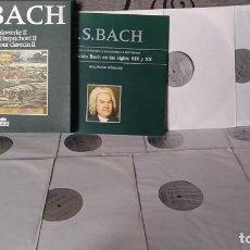 Discos de vinilo: J.S. BACH*_–CEMBALOWERKE / WORKS FOR HARPSICHORD / ŒUVRES POUR CLAVECIN II. Lote 191900866