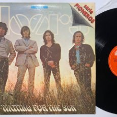 Discos de vinilo: LP THE DOORS WAITING FOR THE SUN EDICIÓN ESPAÑOLA DE 1977. Lote 191903441