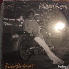 Discos de vinilo: WHITNEY HOUSTON: I'M YOUR BABY TONIGHT. Lote 191905036