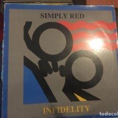 Discos de vinilo: SIMPLY RED: INFIDELITY. Lote 191905368