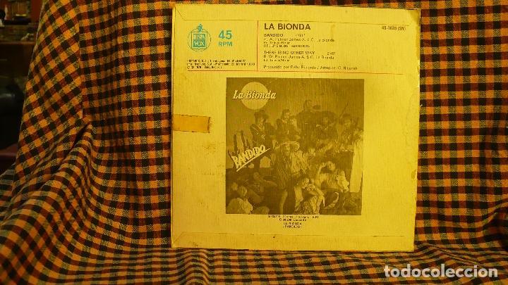 Discos de vinilo: la bionda -- bandido / there is no other way, hispavox 1979. cola cao vit. - Foto 2 - 191912441