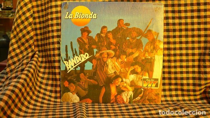 LA BIONDA -- BANDIDO / THERE IS NO OTHER WAY, HISPAVOX 1979. COLA CAO VIT. (Música - Discos - Singles Vinilo - Pop - Rock - Extranjero de los 70)