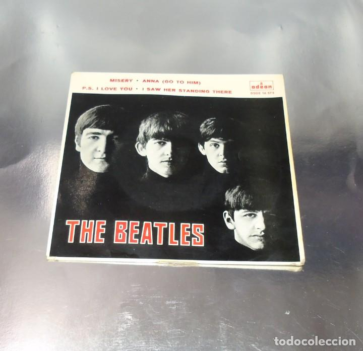THE BEATLES---I SAW HER STANDING THERE & ANA & MISERY & P.S.I LOVE YOU ***COL *** (Música - Discos de Vinilo - EPs - Pop - Rock Extranjero de los 50 y 60)